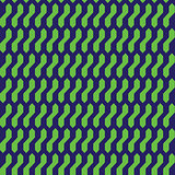 Abstract geometric pattern with blue and green