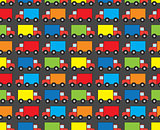 Seamless trucks pattern
