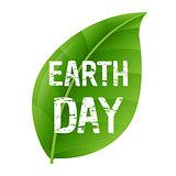 Earth Day Leaf