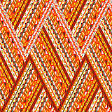 Doodle elements zig zag pattern
