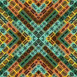 Ethnic motifs seamless background