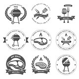 Barbecue party and grill party emblems