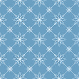 Abstract floral pattern, seamless.