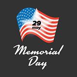 Memorial Day 29 May
