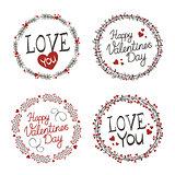 Wreaths Valentines day