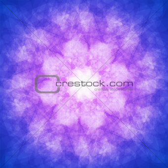 abstract vector spotted background