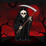 Grim Reaper for Halloween