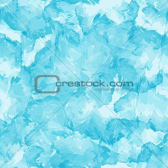 Paint Brush Strokes Seamless Pattern Background Vector Illustrat