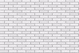 Brick Wall Seamless Vector Illustration Background