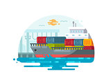 Maritime logistics and transportation