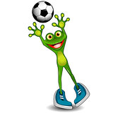 Frog Goalkeeper