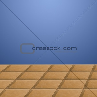 Floor and wall illustration