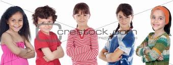 Five adorables children