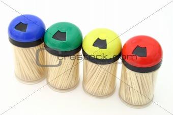 toothpick bottles