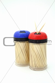 toothpick containers
