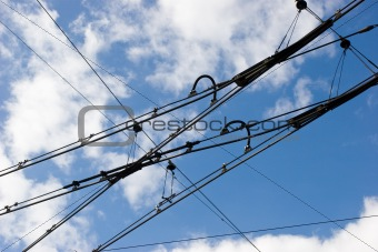 Tramway rower cables
