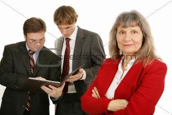 Female Executive & Team