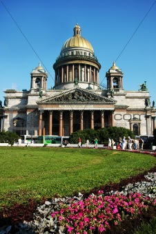 Cathedral of St Isaak , St Petersburg, Russia
