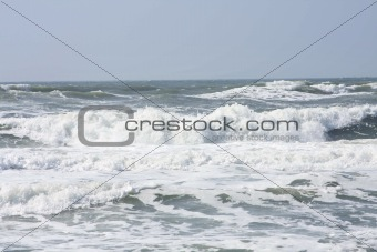 Breakers in Ocean