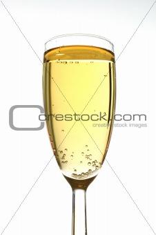 Champagne closeup