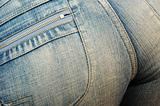 womens bottom in denim jeans