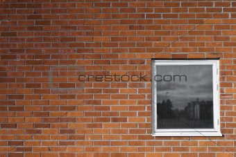 Brickwall and a window