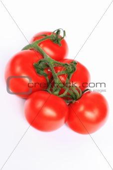 Five tomatos