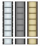 Three camera filmstrips