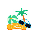 Exotic Holiday. Vector Illustration