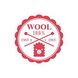 Wool Red Product Logo Design