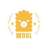 Wool Yellow Product Logo Design