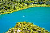 View of Krka river national park