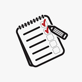 Shopping list icon