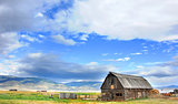 Barn and Gallatin Mountains