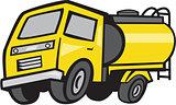 Baby Fuel Tanker Cartoon