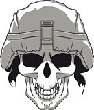 Military Skull