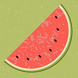 Fruit water melon clip art