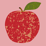 Fruit red apple clip art