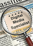 We are Hiring Digital Media Specialist. 3D.