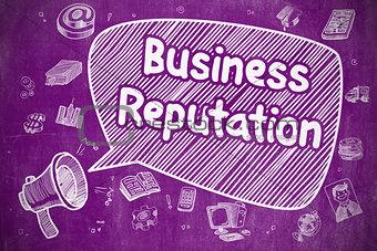 Business Reputation - Business Concept.