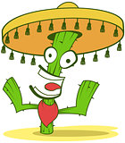 Jolly Cactus In Sombrero