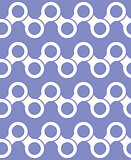 Vector seamless pattern. Modern stylish texture. Repeating geometric tiles with hexagonal elements