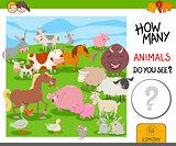 how many farm animals game