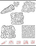 maze leisure game set