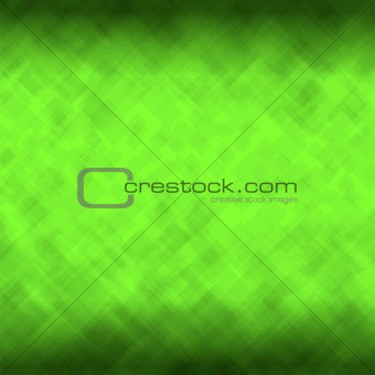 Green Mosaic Pattern