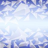 Blue Crystal Pattern