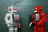 robots chalk