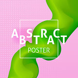Abstract Colorful Poster Concept