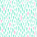 Seamless Pattern Trendy Brush Strokes