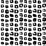Square Hand Drawn Seamless Pattern